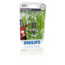 BEC FAR H1 55W 12V LONGER LIFE ECOVISION PHILIPS-12258 LLECOB1