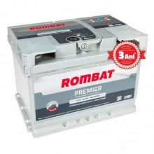 Acumulator auto Rombat Premier 12V 65AH 640Aen 3 ani garantie