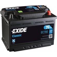 Acumulator auto Exide Classic EC700 12V 70AH 640Aen