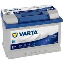 Acumulator auto Varta Blue Dynamic EFB E45 12V 70AH 650Aen 570500065 D842