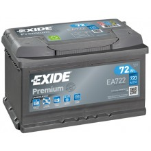 Acumulator auto Exide Premium EA720 12V 72AH 720Aen