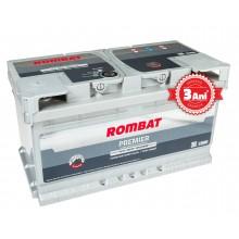 Acumulator auto Rombat Premier 12V 85AH 810Aen 3 ani garantie