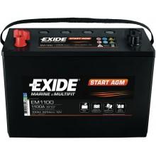 Acumulator auto Exide Start AGM EM1100 12V 100AH 925Aen