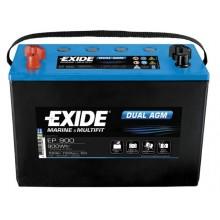 Acumulator auto Exide Dual AGM EP900 12V 100AH 900Wh