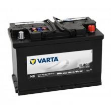 Acumulator auto Varta Promotive Black H9 12V 100AH 720Aen 600123072 A742