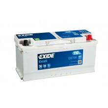 Acumulator auto Exide Excell EB1100 12V 110AH 850Aen
