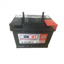 Baterii auto Monbat Dynamic 12V 55AH 520Aen