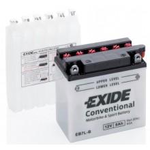 Baterie moto Exide Conventional 12V 8AH EB7L-B, YB7L-B, 12N7-3B