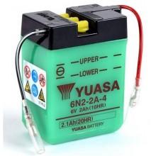 Baterie moto Yuasa 6N2-2A-4 6V 2AH