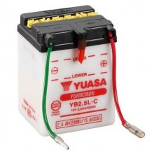Baterie moto Yuasa YB2.5L-C 12V 2.5AH