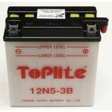 Baterie moto Toplite Yuasa YB5L-B, 12N5-3B