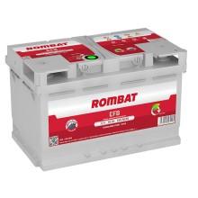 Baterii auto Rombat EFB 12V 65AH 650Aen