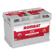 Baterii auto Rombat EFB 12V 70AH 650Aen