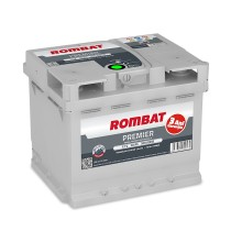 Baterii auto Rombat Premier 12V 50AH 500Aen 3 ani garantie