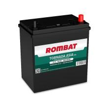 Baterii auto Rombat Tornada Asia 12V 40AH 300Aen borna normala