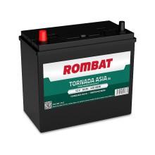 Baterii auto Rombat Tornada Asia 12V 50AH 420Aen borna inversa