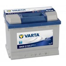 Baterii auto Varta Blue Dynamic D43 12V 60AH 540Aen borna inversa 560127054 3132