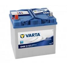 Baterii auto Varta Blue Dynamic D48 12V 60AH 540Aen asia borna inversa 560411054 3132