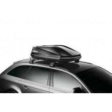 Cutie portbagaj Thule Touring S 100 black glossy negru lucios
