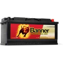 Acumulator auto Banner Running Bull AGM 605 01 12V 105AH 950Aen