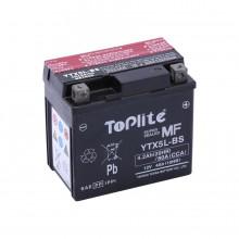 Baterie moto Toplite Yuasa 12V 4AH YTX5L-BS