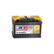 Baterii auto Monbat Formula 12V 75AH 670Aen