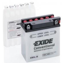 Baterie moto Exide Conventional 12V 5Ah EB5L-B, YB5L-B, 12N5-3B