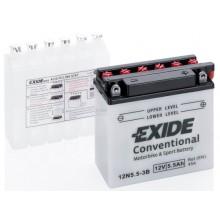 Baterie moto Exide Conventional 12V 5.5Ah 12N5.5-3B