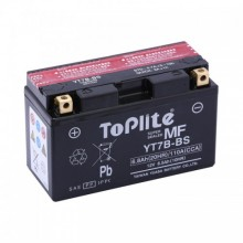 Baterie moto Toplite Yuasa 12V 6.5AH YT7B-BS, YT7B-4