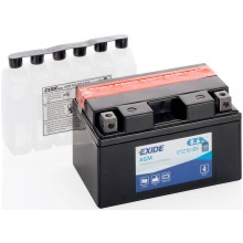 Baterie moto Exide AGM 12V 8.6AH ETZ10-BS, YTZ10S-BS