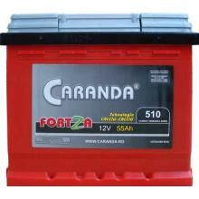 Baterii auto Caranda Fortza 12V 55Ah 510A