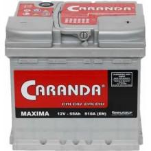 Baterii auto Caranda Maxima 12V 55Ah 510A