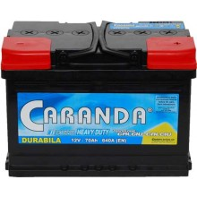 Baterii auto Caranda Durabila 12V 70AH 640Aen