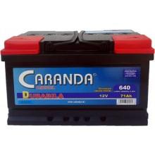 Baterii auto Caranda Durabila 12V 71AH 640Aen