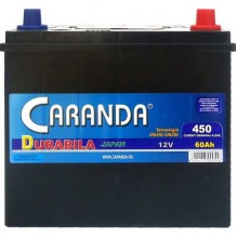 Baterii auto Caranda Durabila 12V 60AH 450Aen asia borna inversa