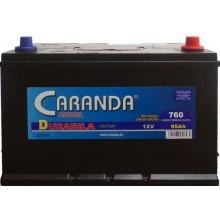 Baterii auto Caranda Durabila 12V 95AH 760Aen asia borna normala