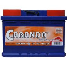 Baterii auto Caranda Durabila Top 12V 55Ah 480A borna inversa