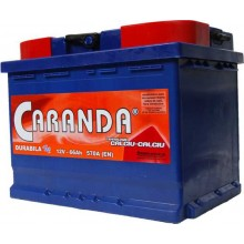 Baterii auto Caranda Durabila Top 12V 66Ah 570Aen borna inversa