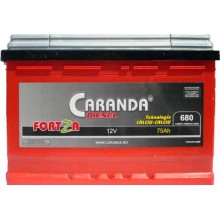 Baterii auto Caranda Fortza 12V 75Ah 680Aen