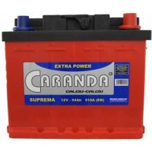 Baterii auto Caranda Suprema 12V 54Ah 510Aen
