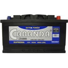 Baterii auto Caranda Suprema 12V 85Ah 800Aen