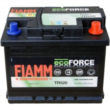 Baterii auto Fiamm ecoForce AFB 12V 60AH 520Aen