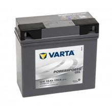 Baterie moto Varta Powersports GEL 12V 19AH 170A 519901017 A512