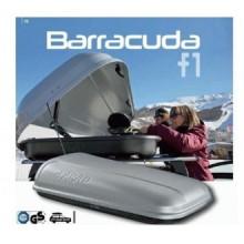Cutie portbagaj Farad Barracuda N3 400litri gri deschidere pe ambele parti