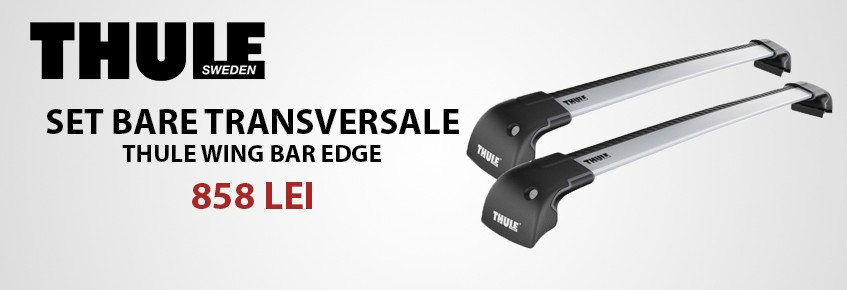 Set bare Thule Wingbar Edge