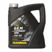 MANNOL O.E.M. CHEVROLET OPEL 5W-30- 4L