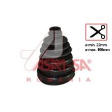 BURDUF UNIVERSAL 22mm - max. 100mm-32218