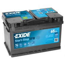 Baterii auto Exide Start-Stop EFB EL652 12V 65AH 650Aen