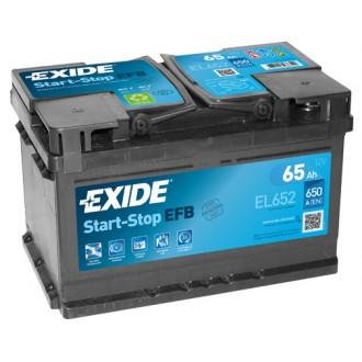 Acumulator auto Exide Start-Stop EFB EL652 12V 65AH 650Aen