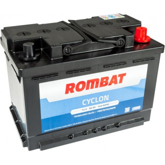 Acumulator auto Rombat Cyclon 12V 66AH 540Aen